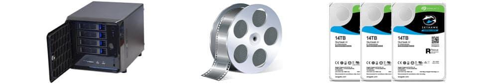CCTV Camera Video Recording