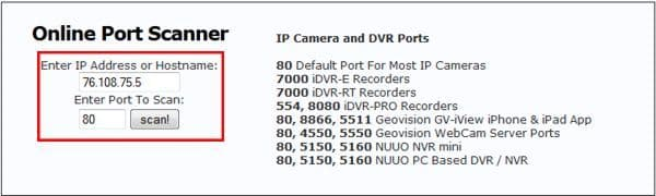 NUUO NVR Solo Port Forwarding