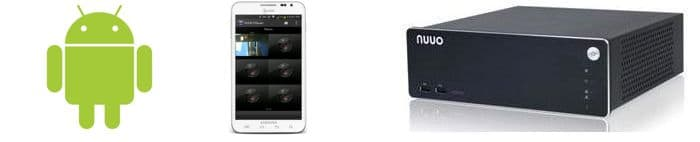 Nuuo NVR Solo Remote Access Android