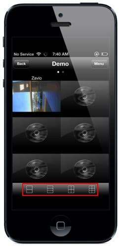 NUUO iViewer iPhone App