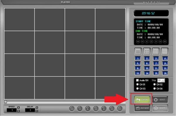 JPEG2000 AJP Video Player Setup