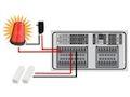 iDVR-PRO 960H Alarm Input Relay Output Setup