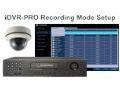 iDVR-PRO 960H Recording Setup