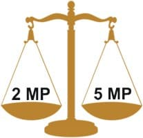 2MP Vs 5MP Comparison